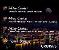 Cruises in/from Greece
